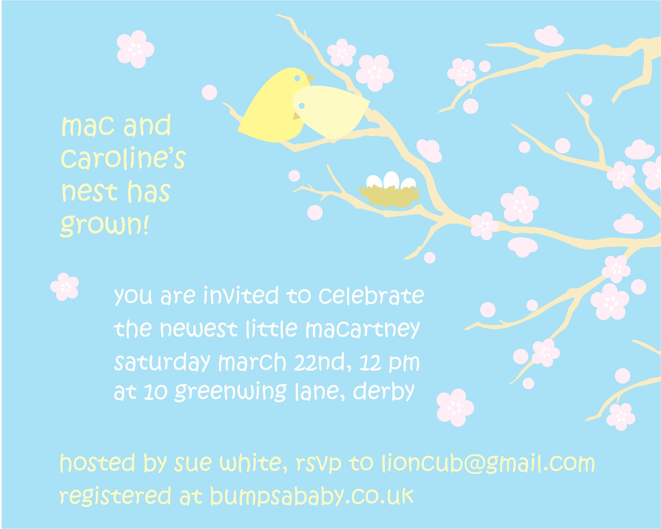 free baby shower invitations templates pdf