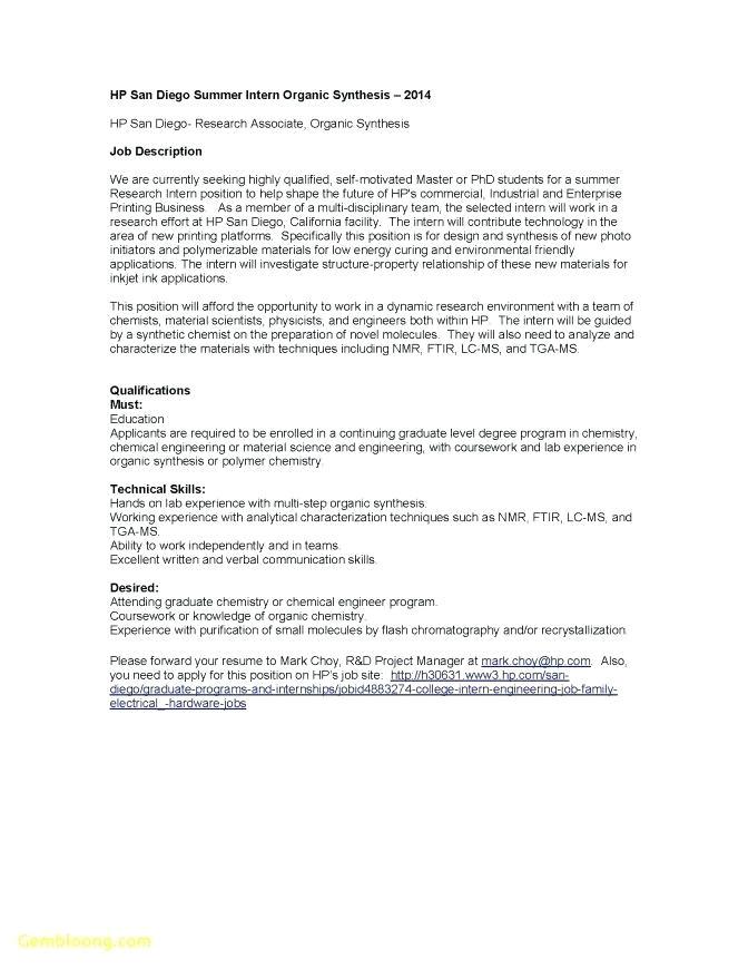 Analytical Skills Cover Letter Analytical Chemist Cover Letter Resume Tutorial Pro