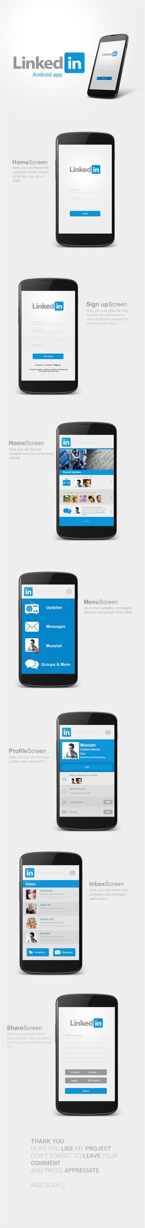 best android app ui designs