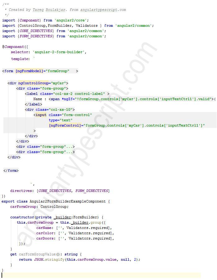 angular 2 template syntax