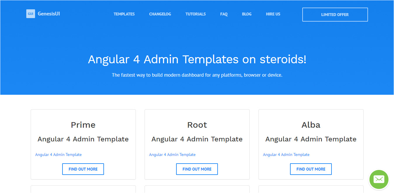 angular js admin templates
