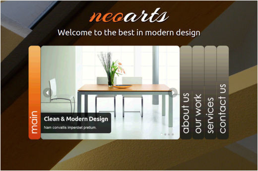 html5 and css3 collection fresh free web templates