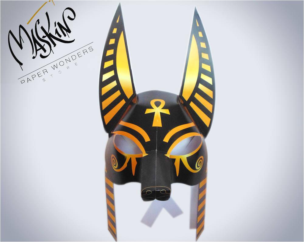 anubis mask anubis costume mask egyptian