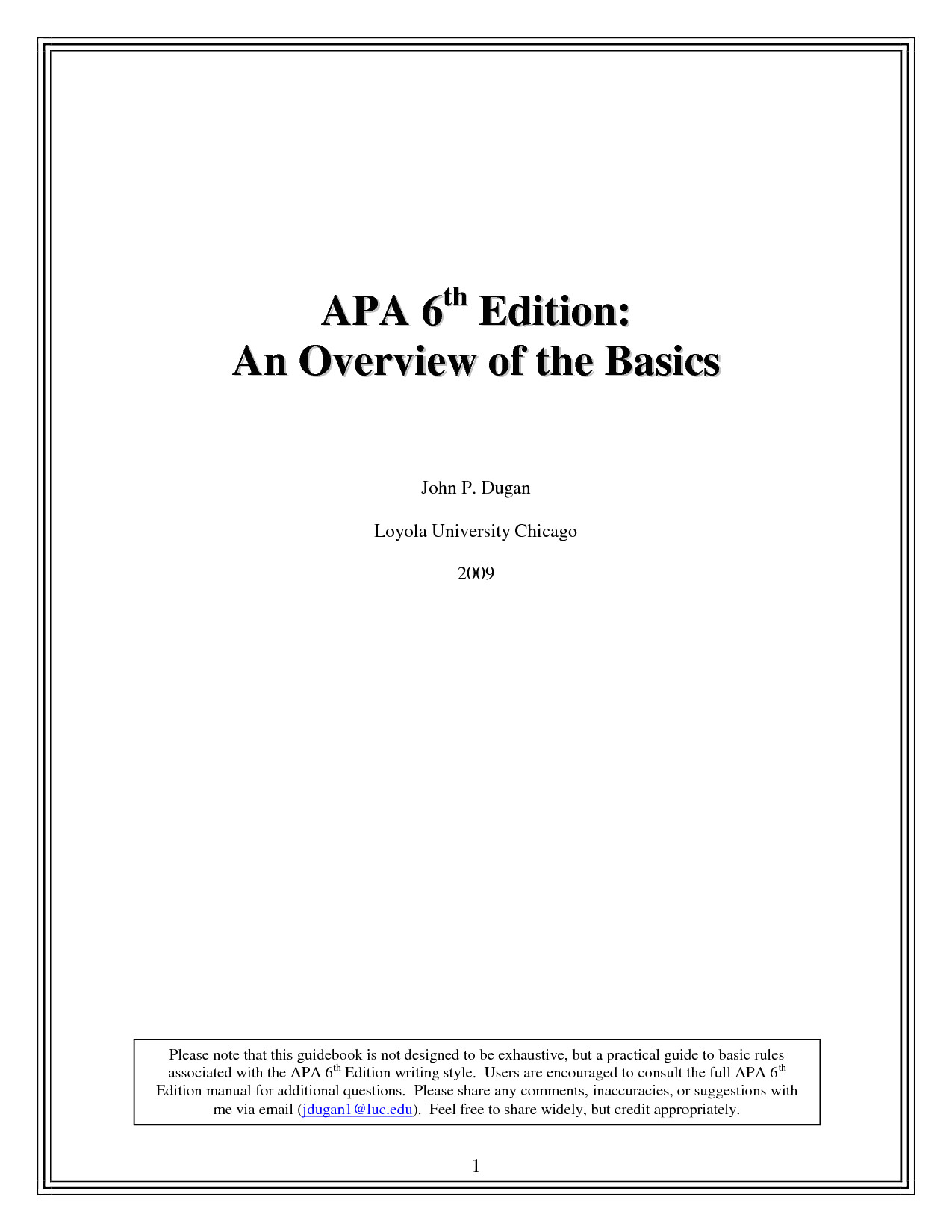 Apa format Sixth Edition Template Apa 6th Edition Template E Commerce