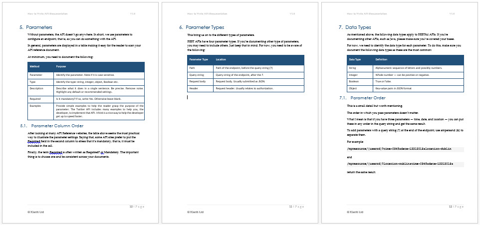 api documentation template ms word