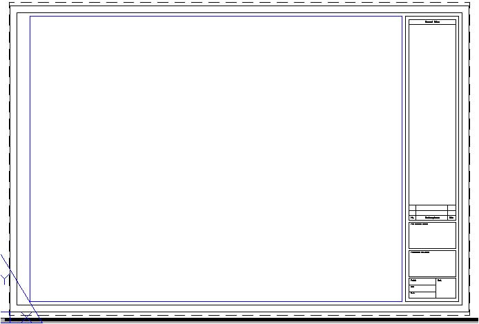 post drawing title block template 443638