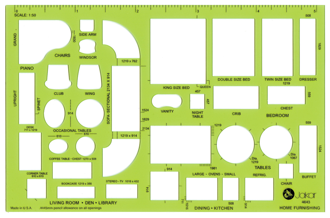 Architectural Drafting Templates Jakar Stencils Templates Architectural Technical Artist