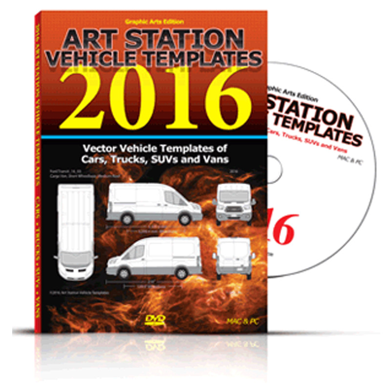 art station vehicle templates 2016