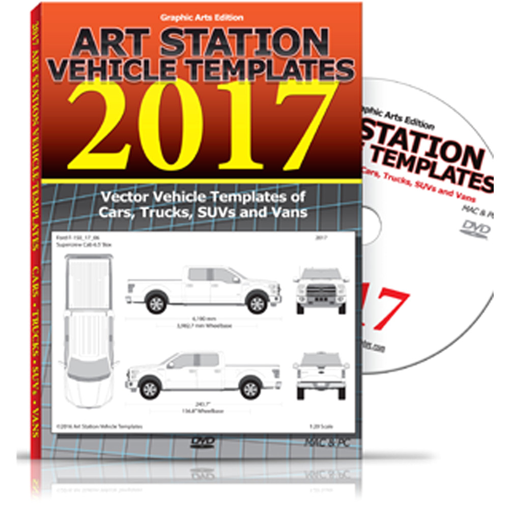 art station vehicle templates 2017