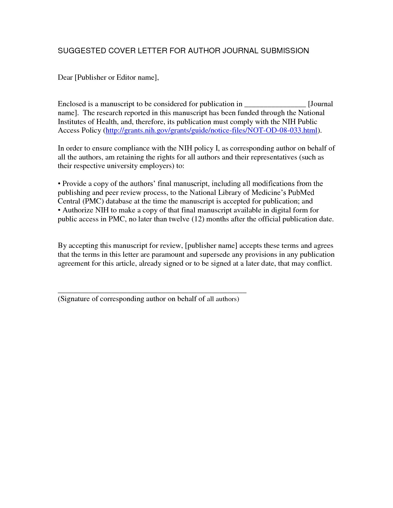 Articles On Cover Letters Journal Article Submission Cover Letter the Letter Sample