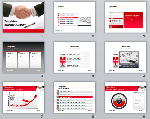 5 free powerpoint e learning templates 2
