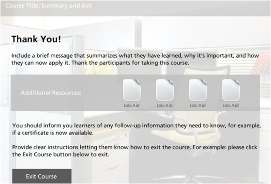 Articulate Powerpoint Templates Course Exit Slide Template Downloads E Learning Heroes
