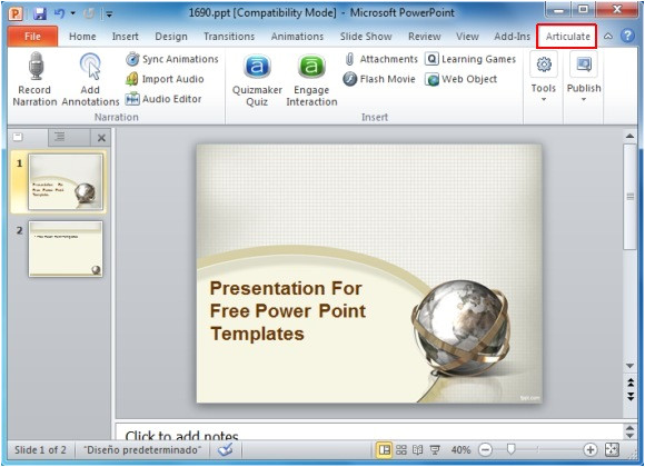 create awesome e learning courses in ms powerpoint with articulate studio pro