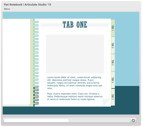 Articulate Powerpoint Templates Examples Of Flat Ui Templates In Action E Learning Heroes