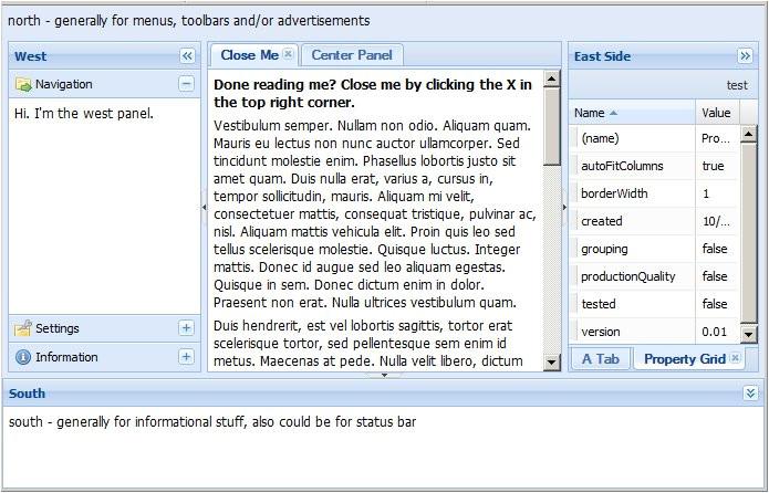 asp net menu templates