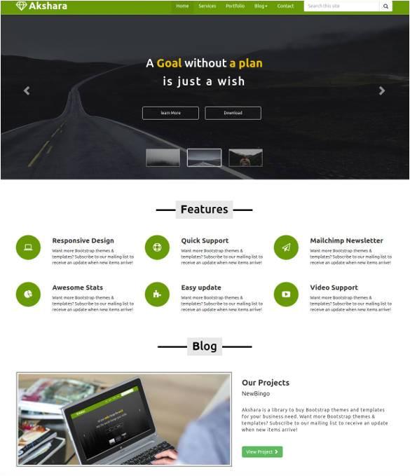 free responsive html templates