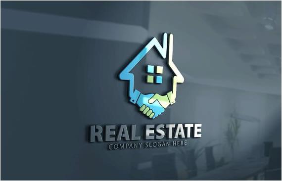real estate logo design templates