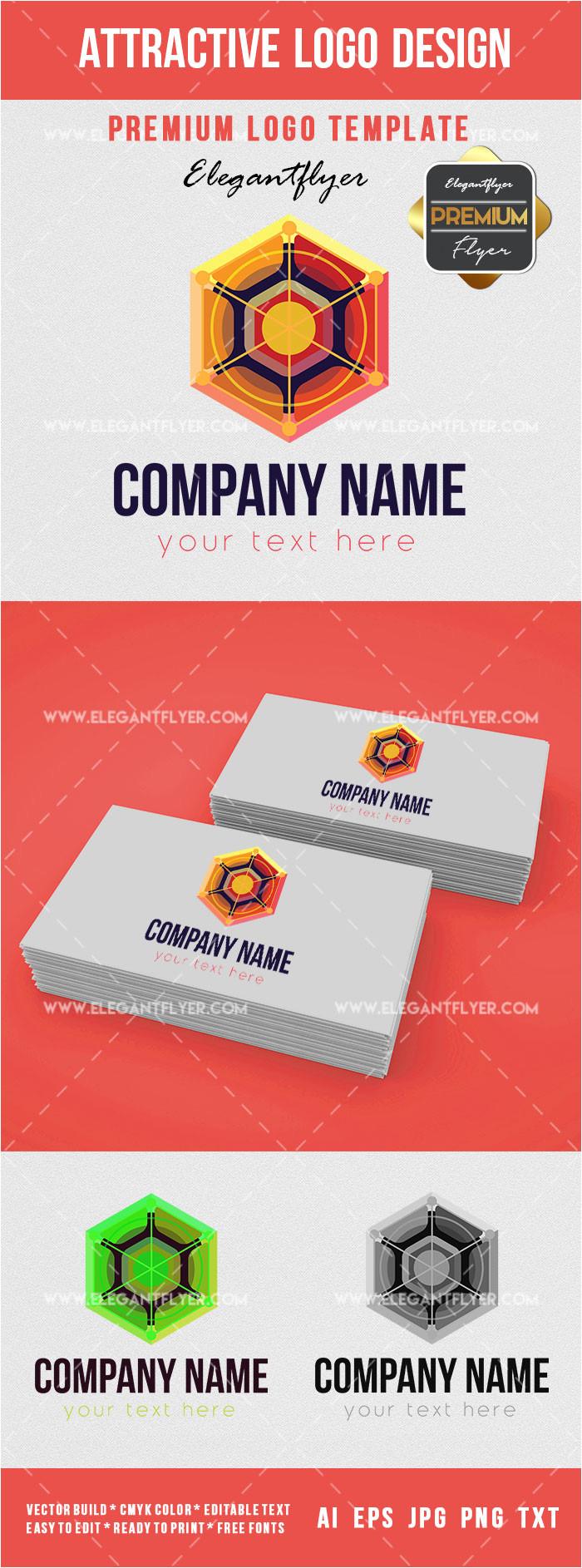 attractive design logotype premium logo template 2
