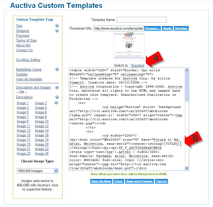 tutorial id customize listing template faq 1