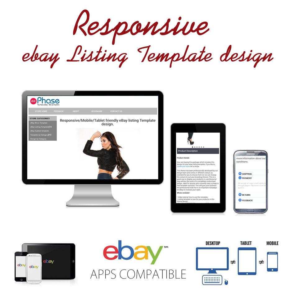 Auctiva Template Responsive Ebay Listing Template Design Auctiva Inkfrog
