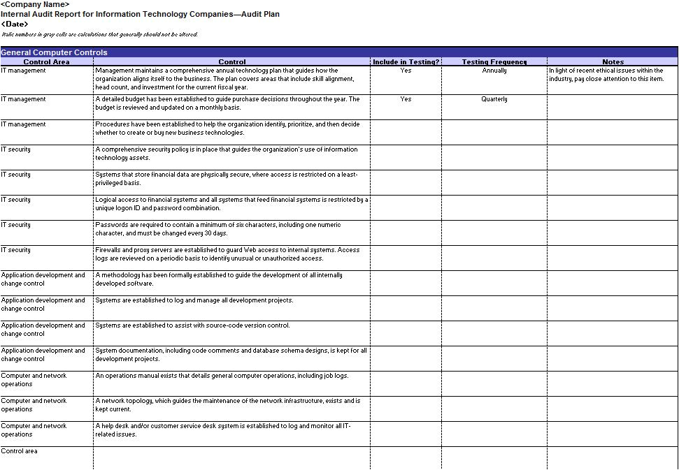 Audit Templates Checklists Audit Template Personal Skill Audit Template for Students