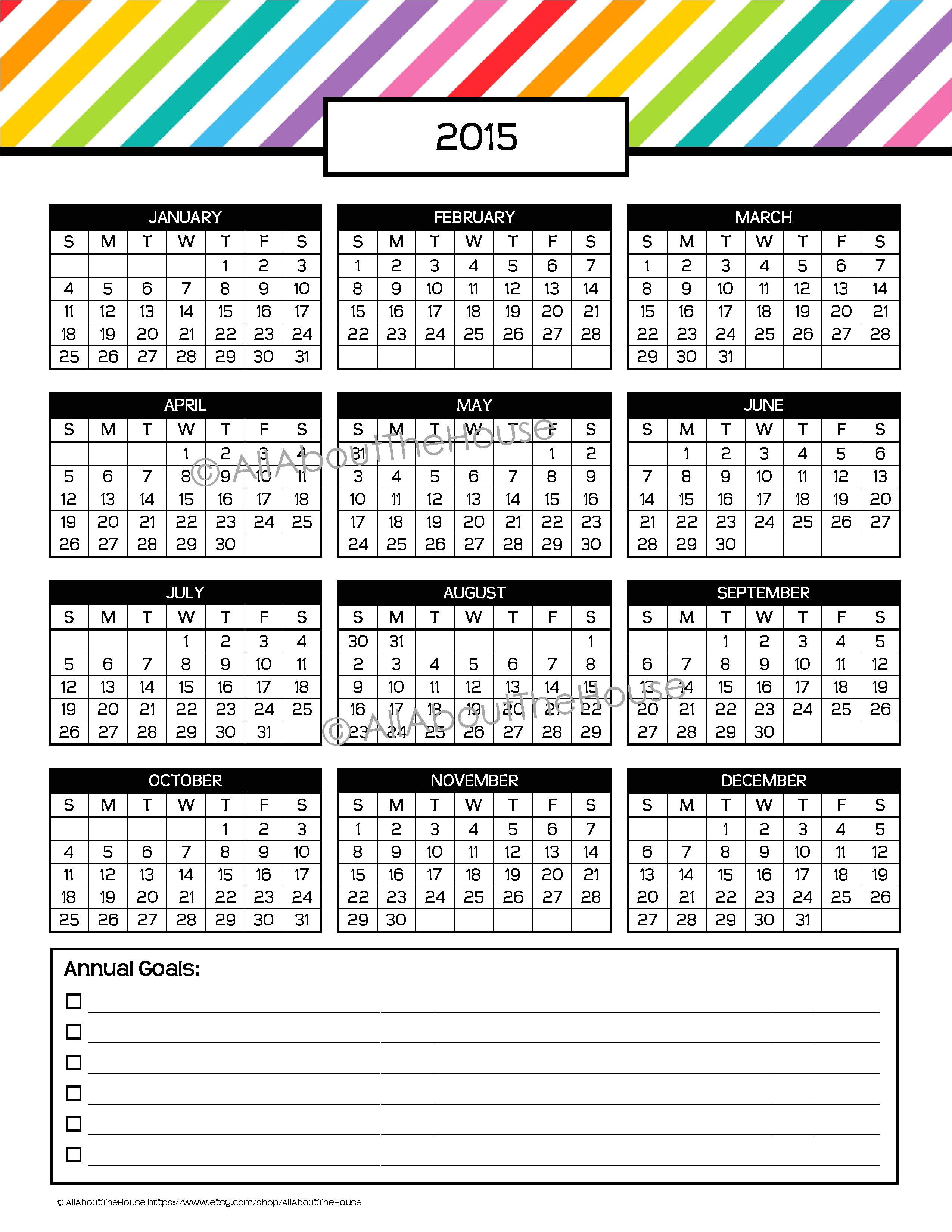 australia 2014 yearly planner