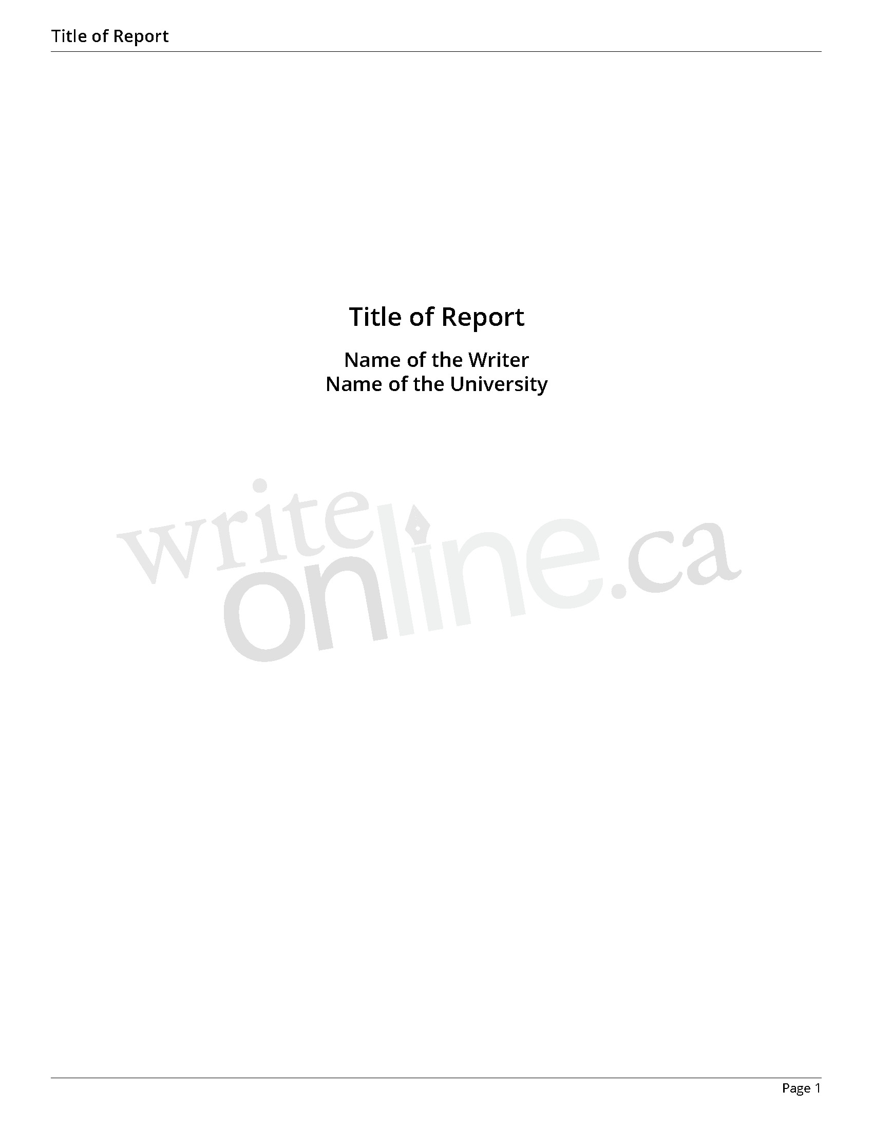Autobiography Cover Page Template Bio Lab Report Introduction Example