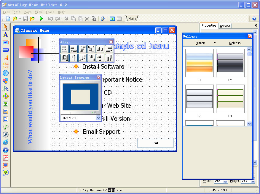 linasoft autoplay menu builder crack