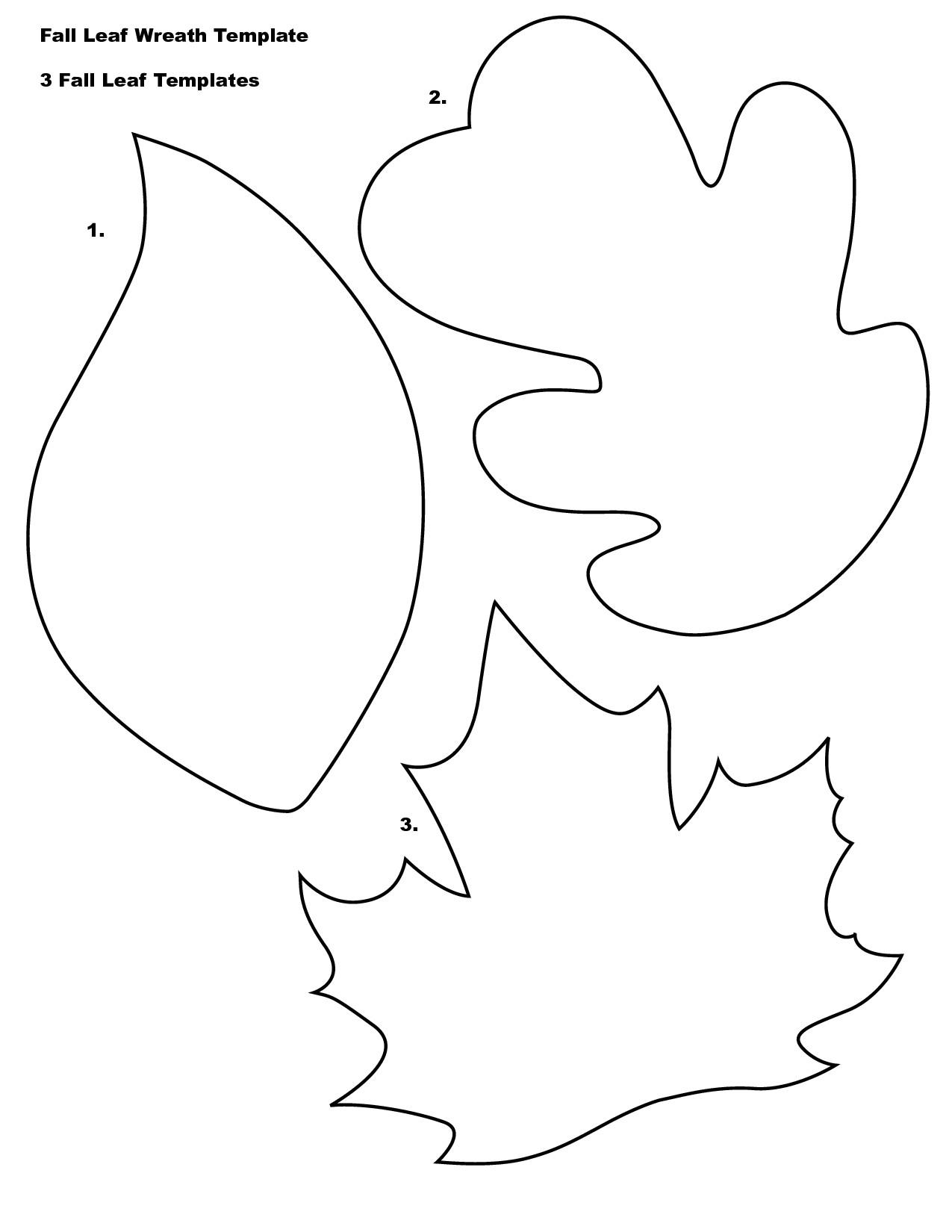 post fall leaves printable templates 62653