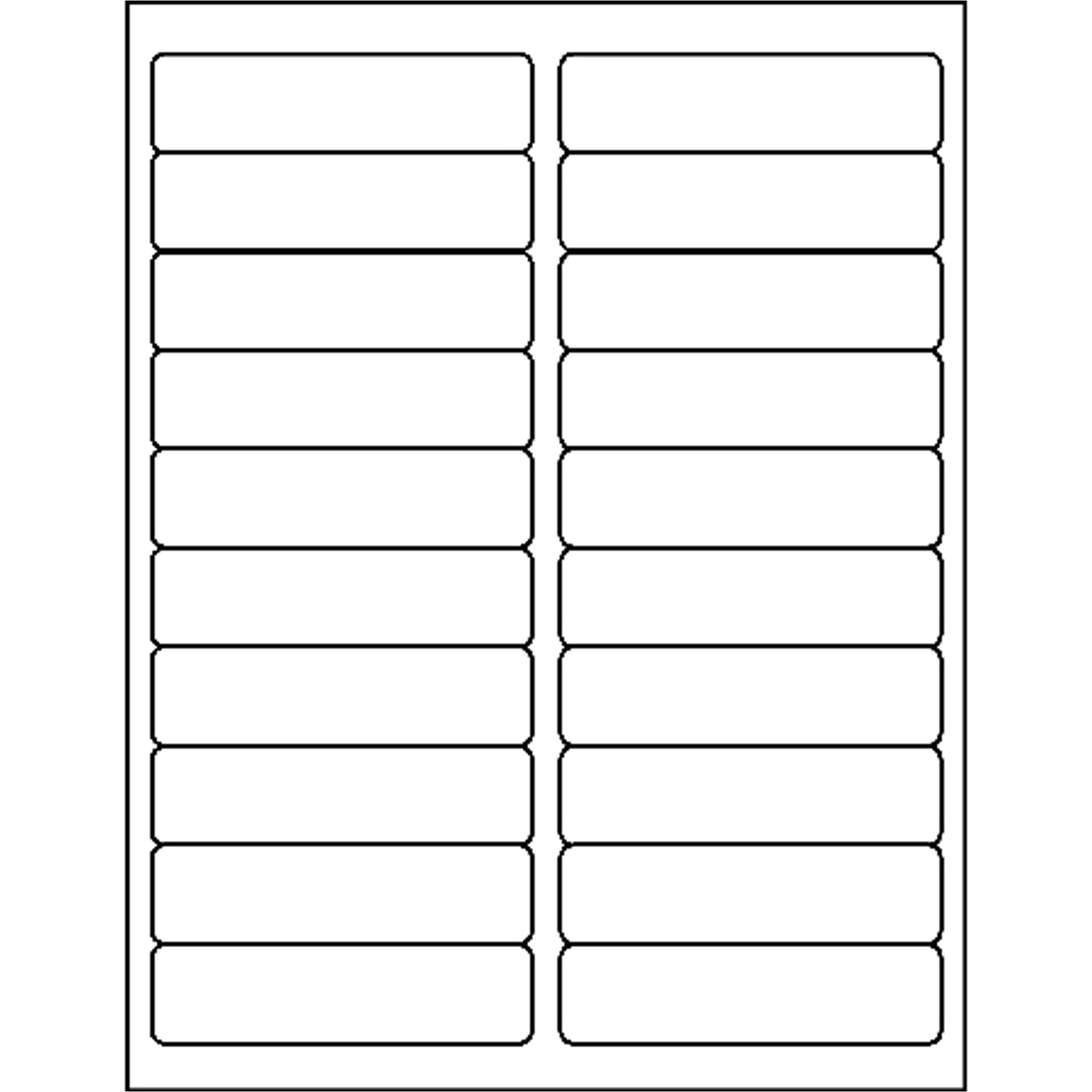 business source bright white premium quality address labels bsn26113