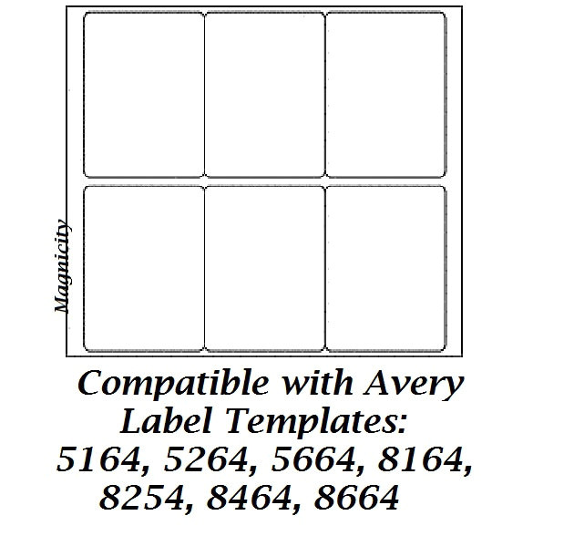 search q avery template 5164 for word form restab