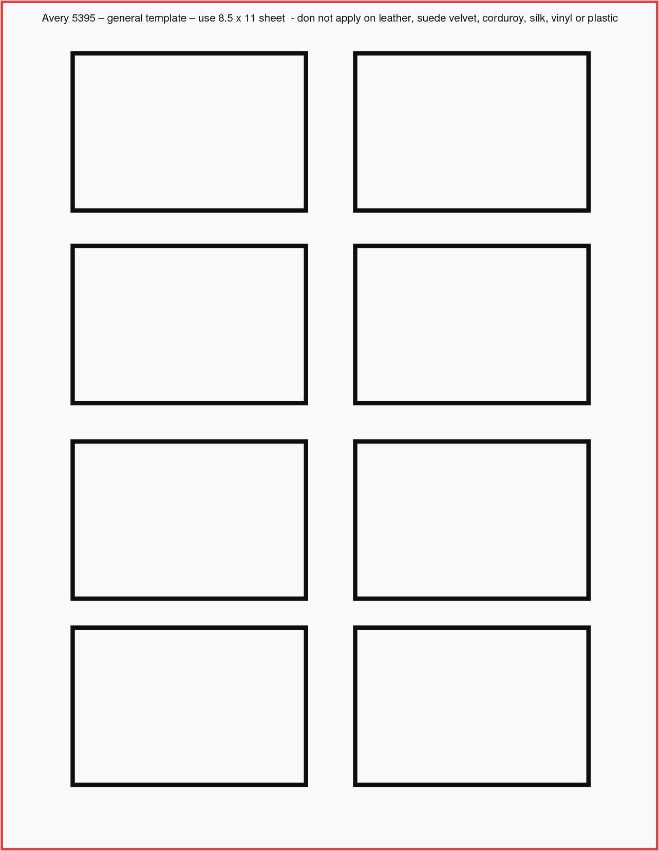 avery template 5027