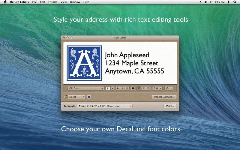 avery 5523 template