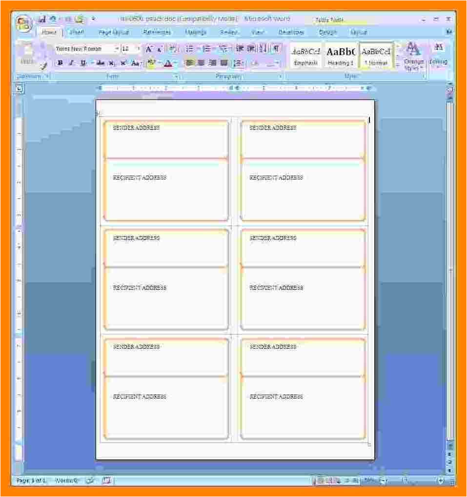 Avery Template 5660 Microsoft Word Avery 5660 Template In Word Bing Images