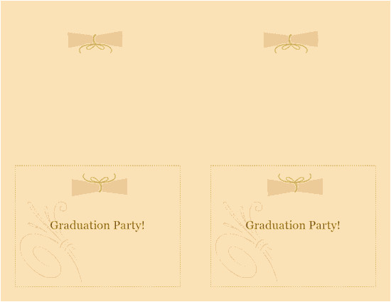 graduation party invitation note card 433