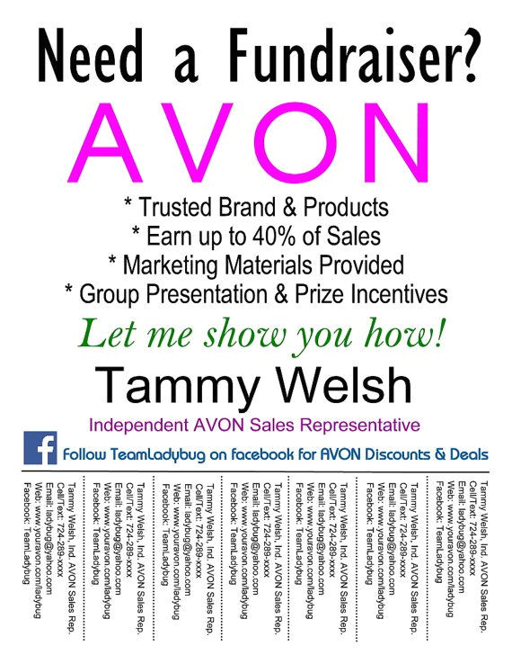 Avon Flyer Template 1000 Images About Avon On Pinterest Fundraisers Avon