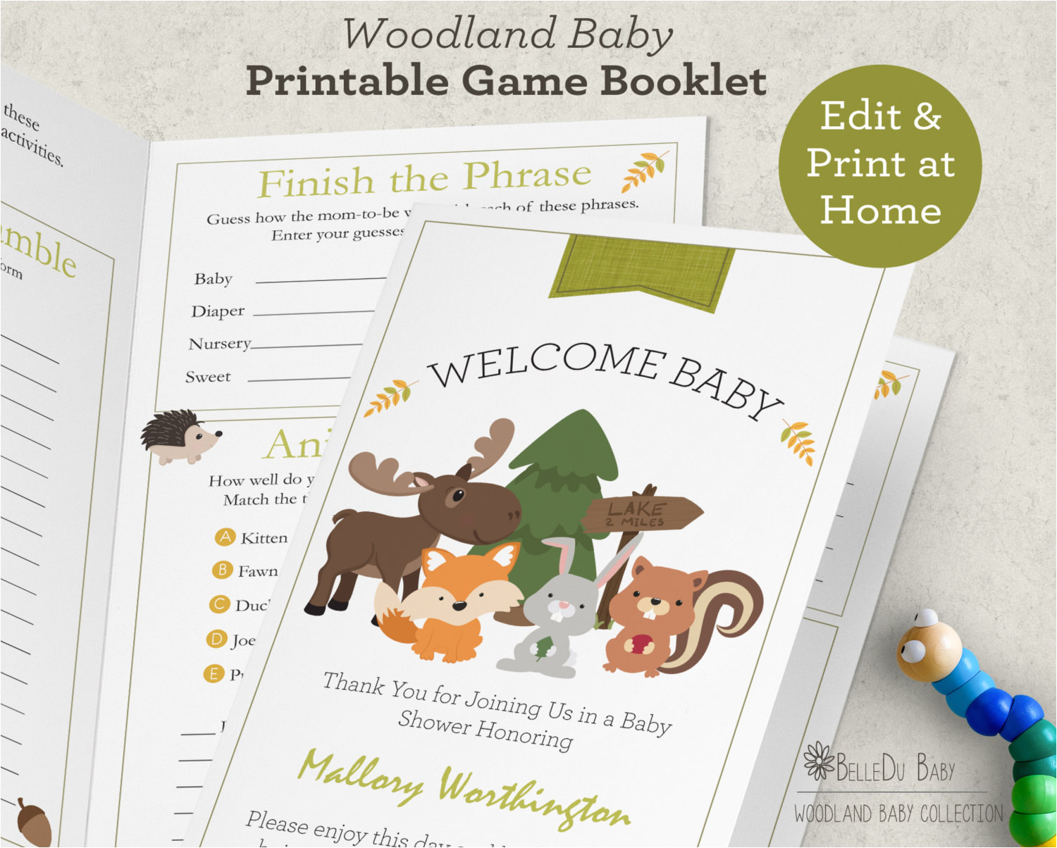 Baby Shower Game Booklet Template Baby Shower Game Booklet Template Pictures to Pin On