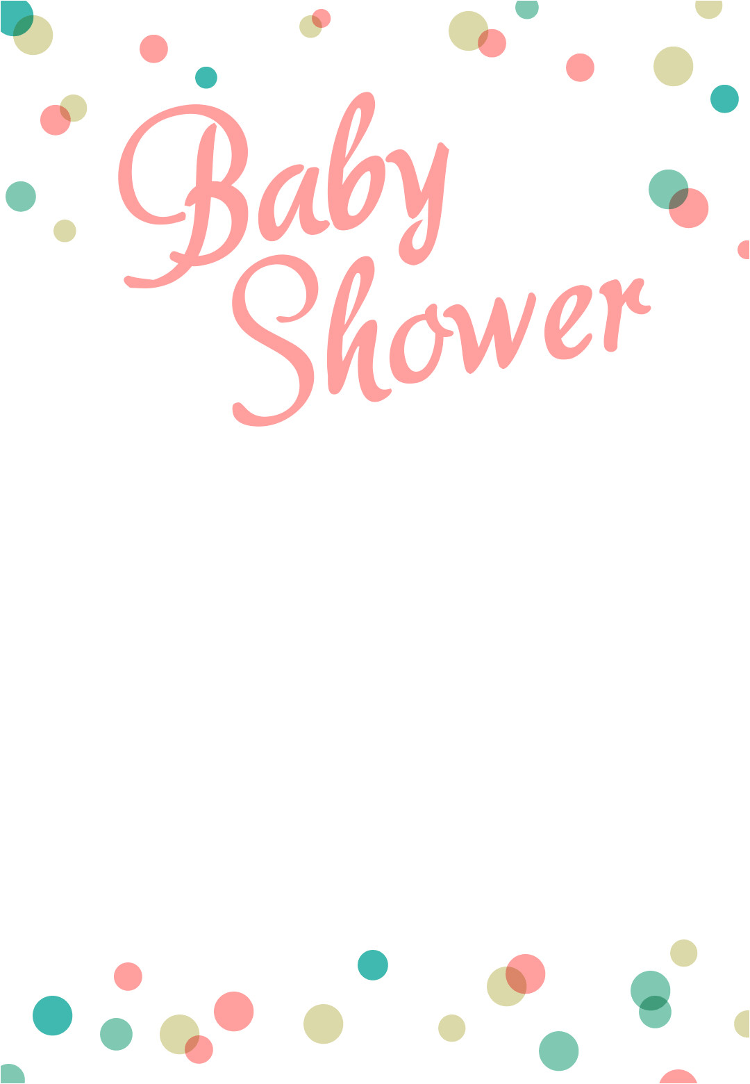 free printable car baby shower invitation template