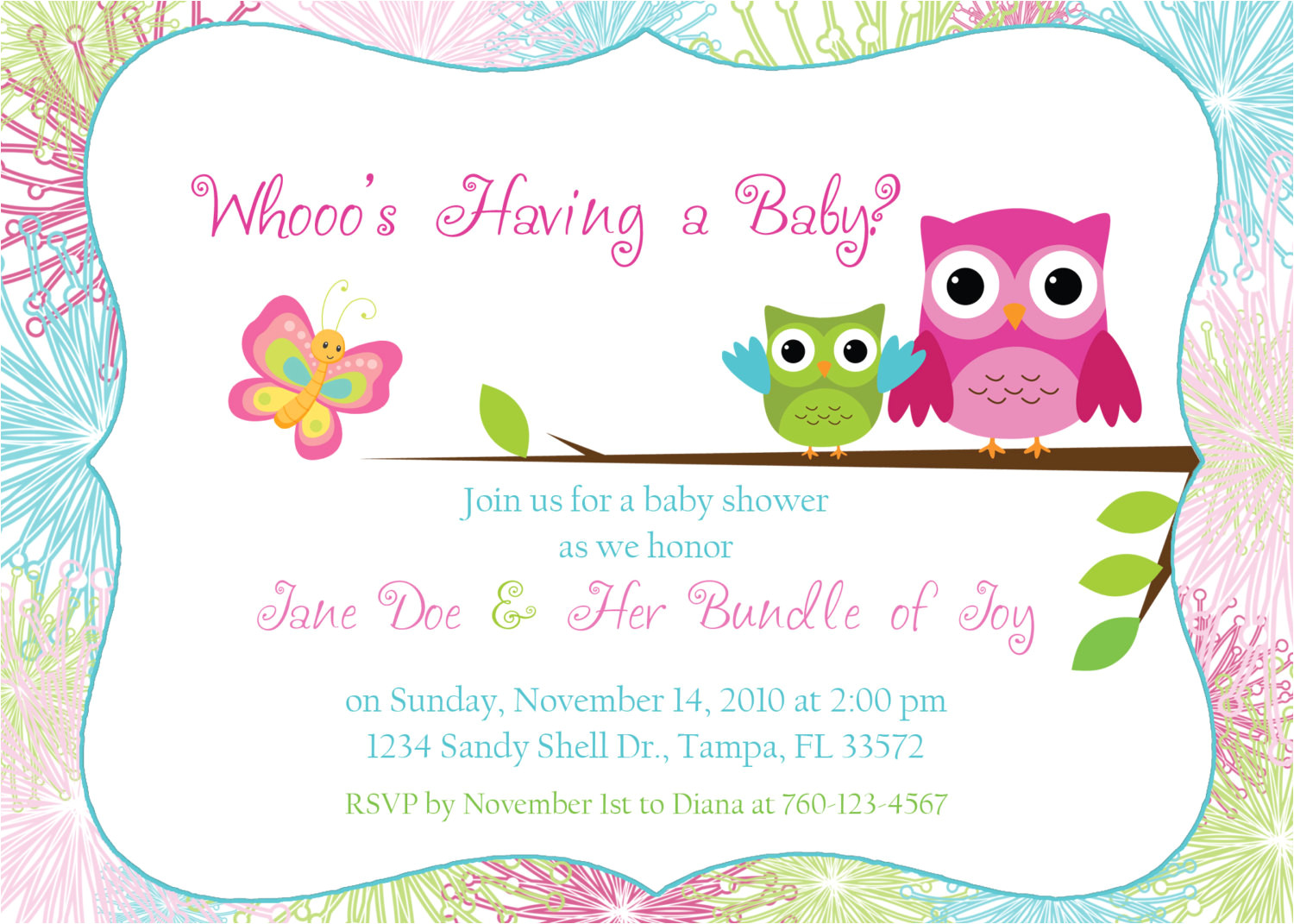 baby shower invitations free templates online