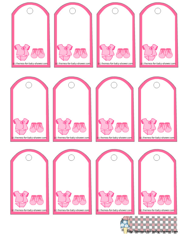 Baby Shower Label Template for Favors 7 Best Images Of Free Printable Baby Shower Tags Templates