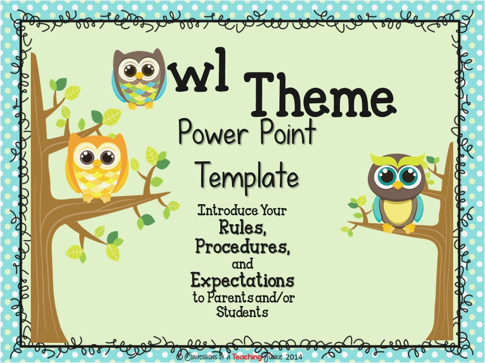 back to school night powerpoint templates