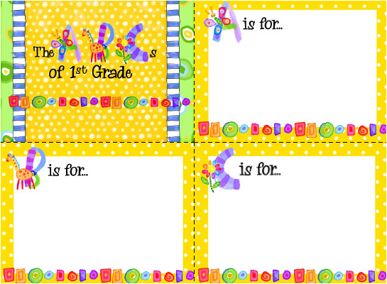 back to school night template