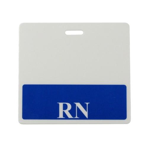 badge buddy blue rn horizontal