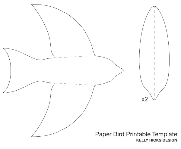 post birds flying cutouts printable 201930