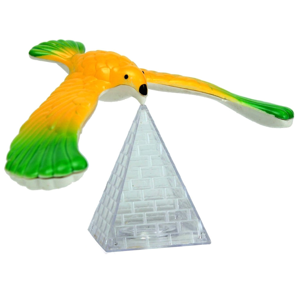 magic balancing bird science desk desk toy novelty fun learning learning gag gift weighted