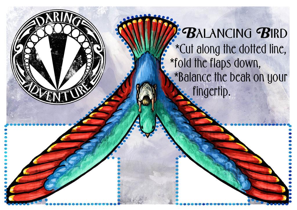 make a balancing bird 379086335