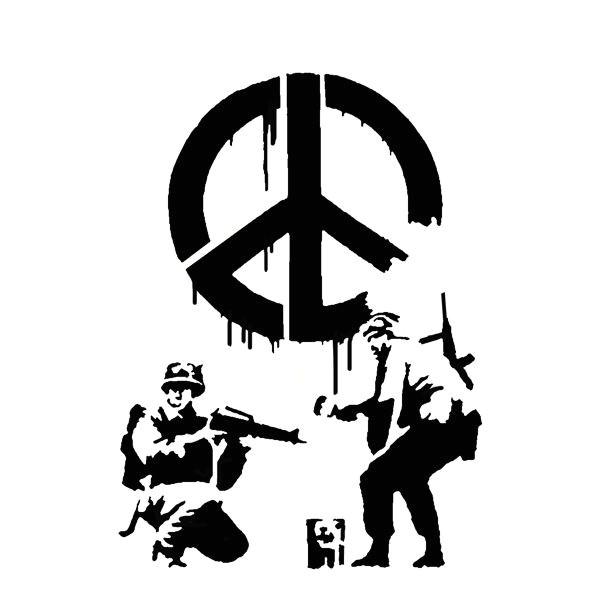 banksy cnd soldiers stencils 8252 p