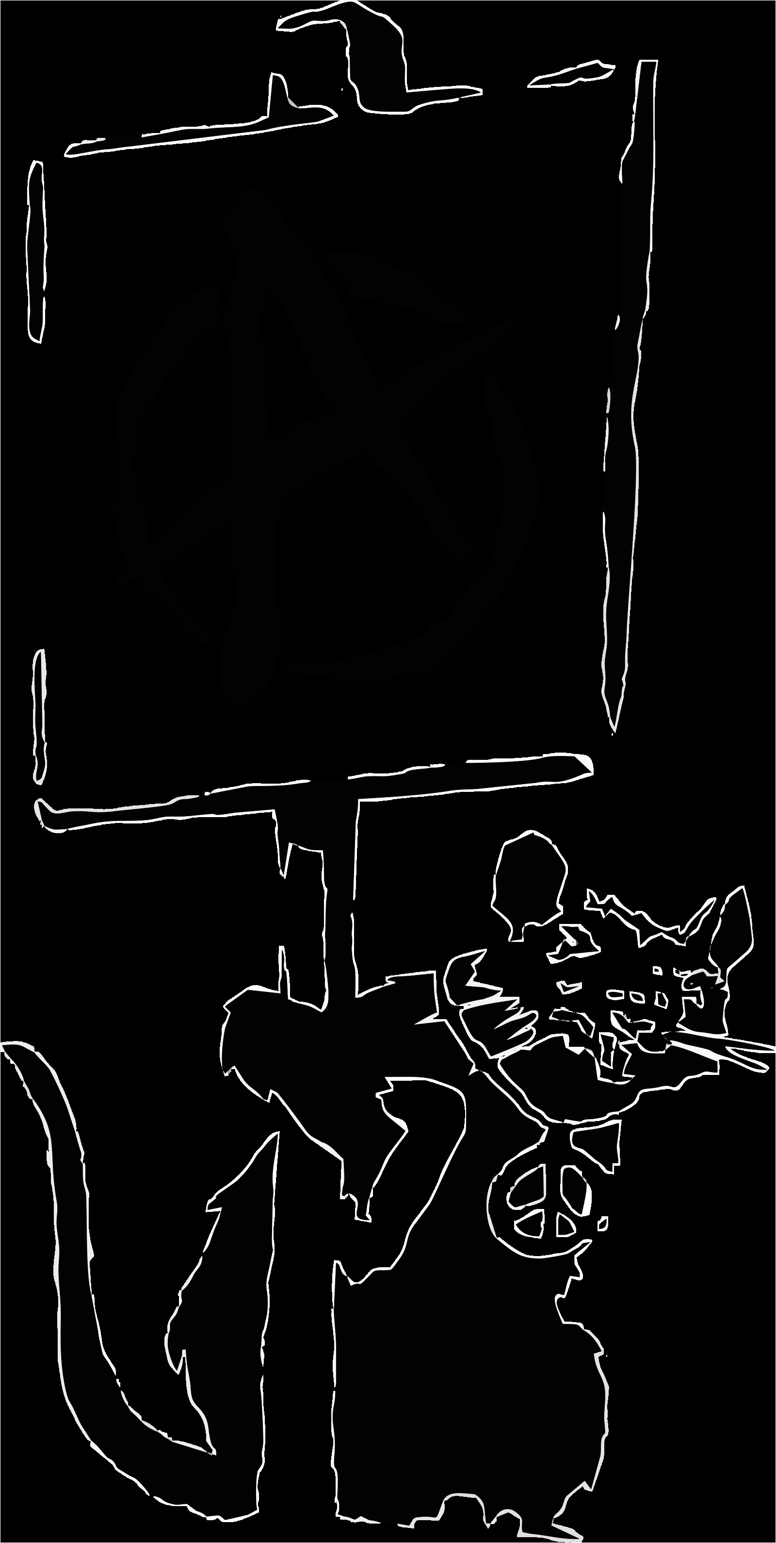 Banksy Stencil Templates Rat by Banksy Artwork by Dmntmb On Deviantart