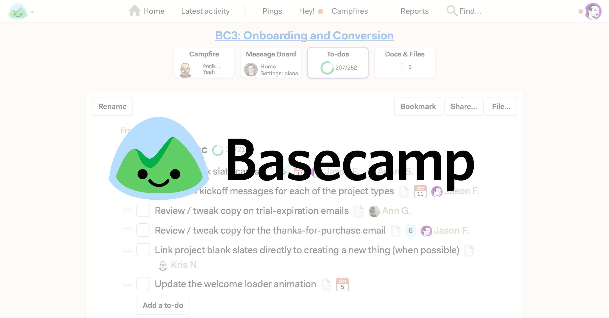 Basecamp Project Templates Basecamp 2 Keywordsfind Com