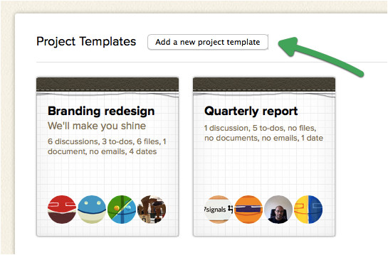 Basecamp Project Templates Basecamp Just Keeps Getting Better New In Basecamp
